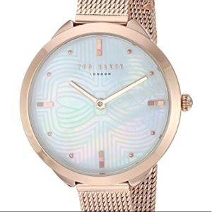 Ted Baker gold bow dial with a rose gold Watch